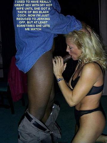 black cock wife cumshots