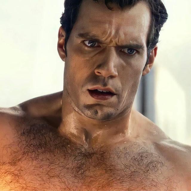 pecho peludo de Superman