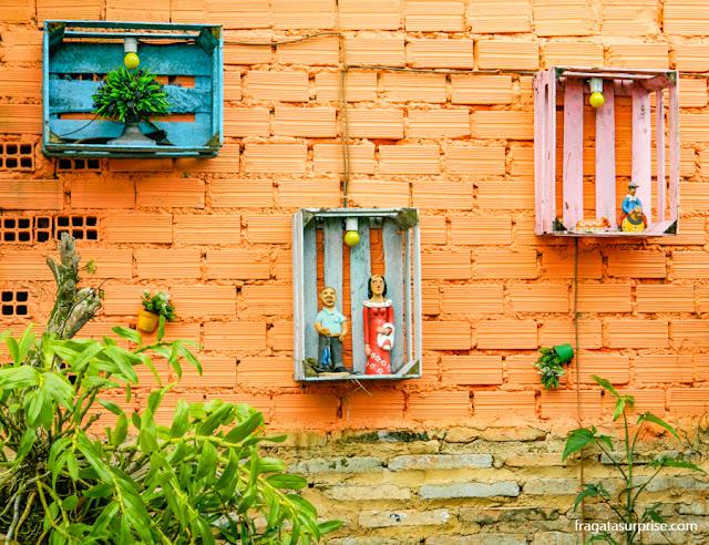 Loja de artesanato em Santo Antonio de Lisboa, Florianópolis