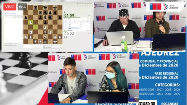 Campeonato de Ajedrez Online Escolar