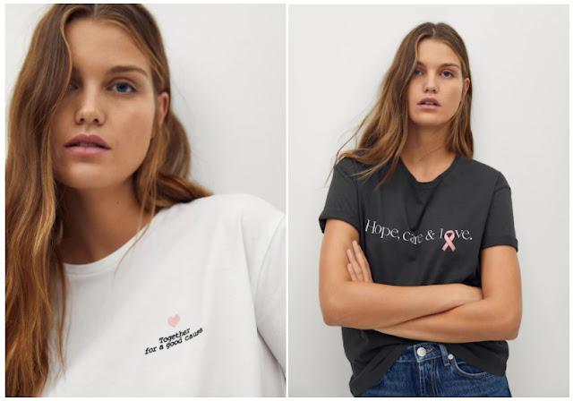 Camisetas solidarias Mango