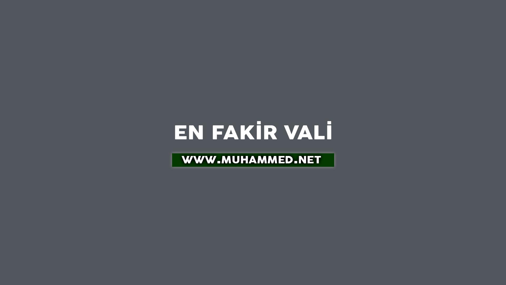 En Fakir Vali