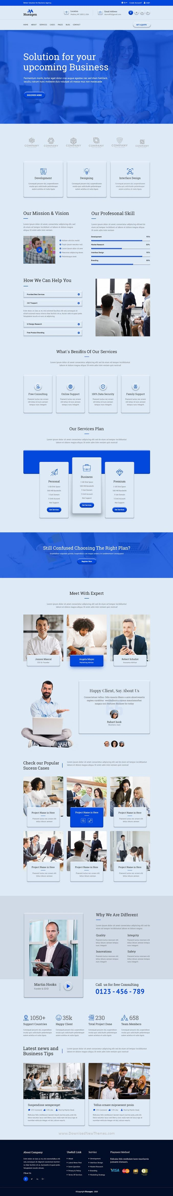 Business Agency UI Template