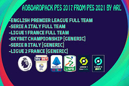 New Adboards Pack From PES 2021 For - PES 2017