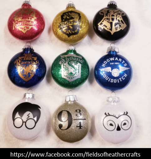 harry potter christmas ornaments with cricut free svgs harry potter christmas ornaments with