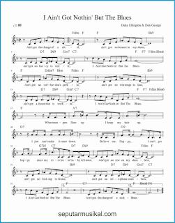 chord i ain't got nothin' but the blues lagu jazz standar