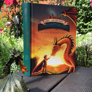 """""""Die geheime Drachenschule: Der Drache mit den silbernen Hörnern"""" von Emily Skye, illustriert von Pascal Nöldner, erschienen im Baumhaus Verlag"""