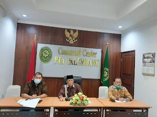 Pendampingan Persiapan Assesmen  Surveillance Akreditasi Penjamin Mutu  (APM) Wilayah Pengadilan Tinggi Agama Palembang secara Online