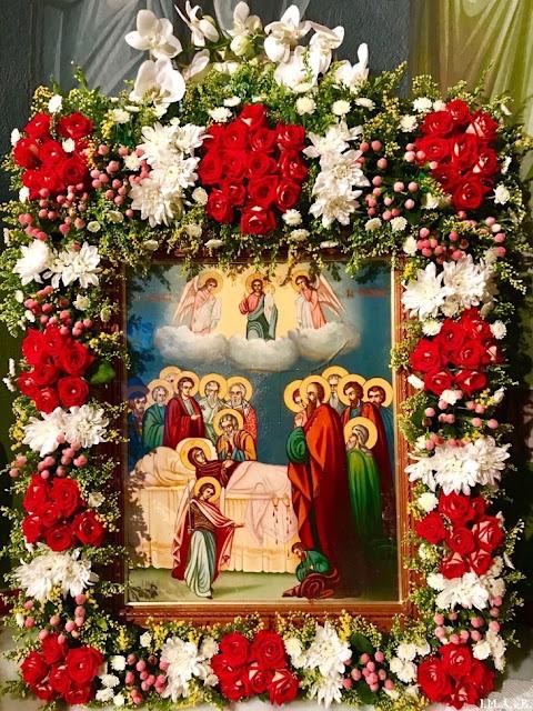 ИПЦ Греции: Праздник Успения Божией Матери в Пирее и Ахарнэ. ФОТО