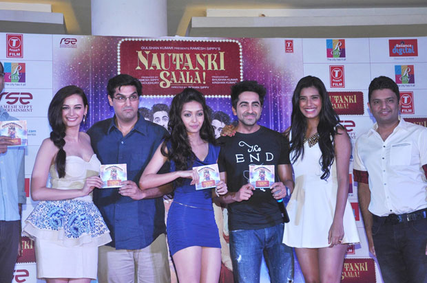 Stills nautanki saala audio launch