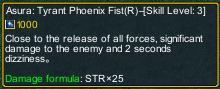One piece marine defense 261 Garp Asura: Tyrant Phoenix Fist detail