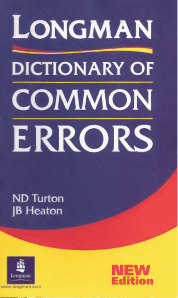 Longman-Dictionary-of-Common-Errors-For-All-Competitive-Exam-PDF-Book