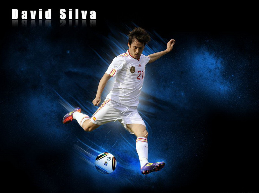 All Soccer Playerz HD Wallpapers: David Silva Fresh HD