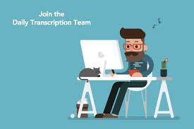 Transcription online jobs,