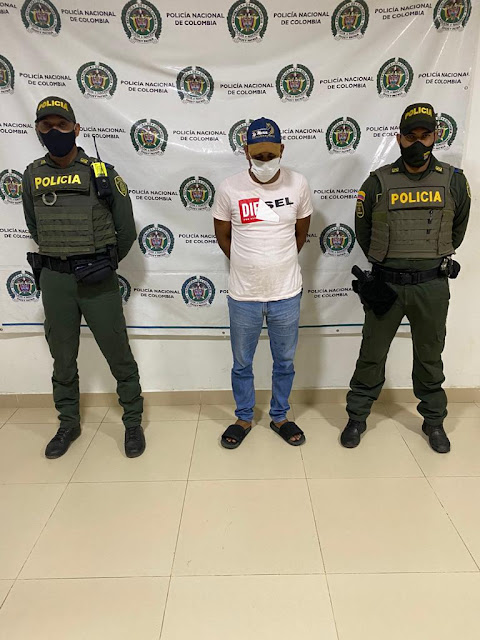 hoyennoticia.com, Buscado por concierto para delinquir en Cúcuta cayó en Fonseca