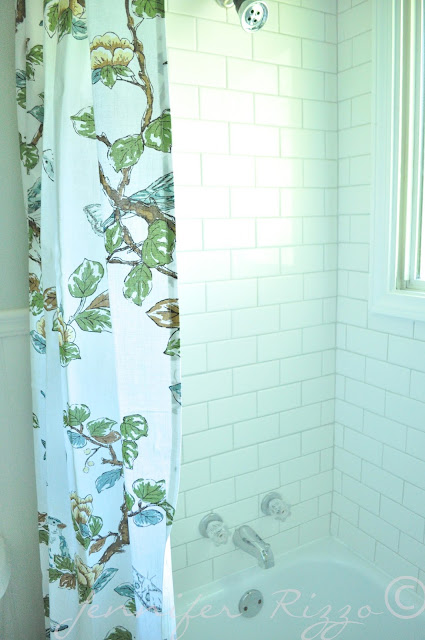 The Oak house project full bathroom renovation with subway tiles