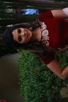 Actress Aathmika in lovely Maraoon Choli ¬  Exclusive Celebrities galleries 070.jpg
