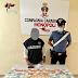 Modugno (Ba). Ennesimo pusher finito in manette. Arrestato dai carabinieri un 33enne del luogo.
