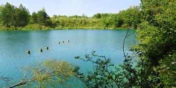 Wapienniki Sulejów - Turkusowe Jezioro woj. łódzkie