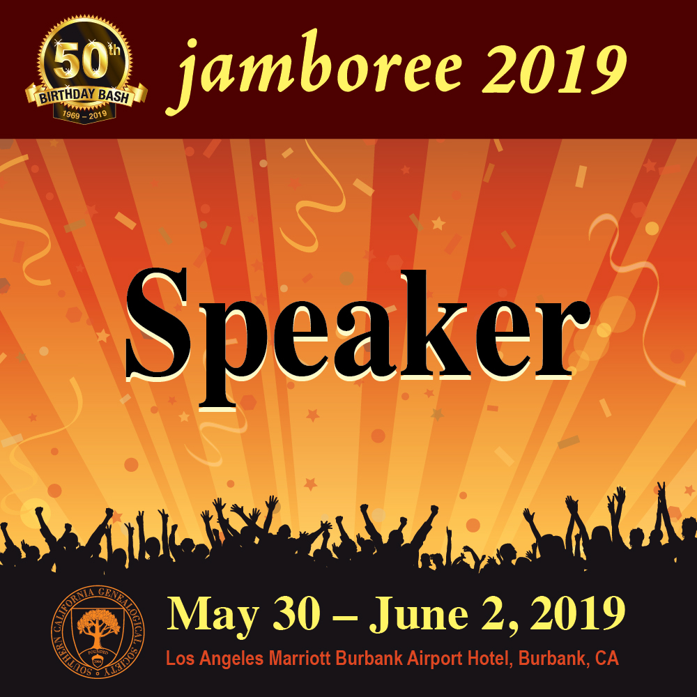 2019 Jamboree Speaker Badge