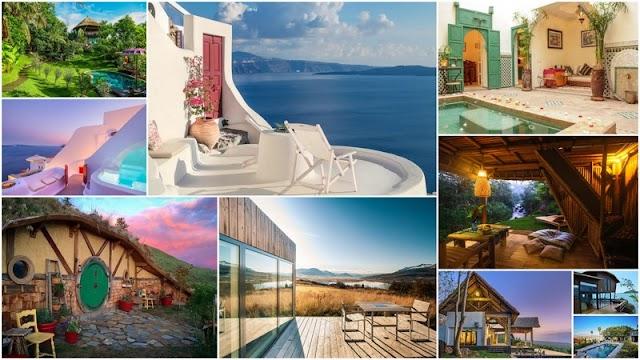 2  Σπίτια στην Ελλάδα στην λίστα με τα πιο δημοφιλή της Airbnb