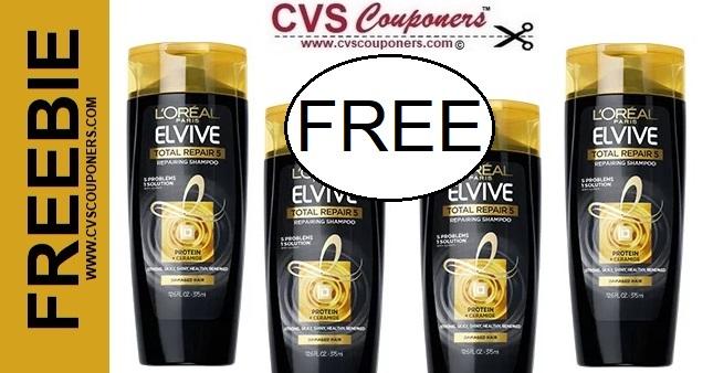 FREE L'Oreal Elvive Total Repair CVS Deal  69-615