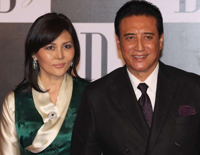 Danny Denzongpa and wife
