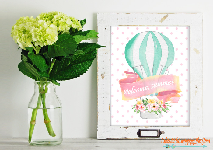 Welcome, Summer Printables