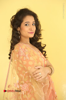 Telugu Actress Santoshi Sharma Latest Stills in Salwar Kameez at HBD Movie Teaser Launch  0009.JPG