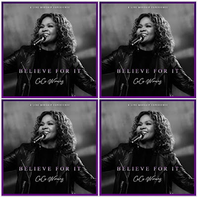 CeCe Winans' Music: Believe For It (15-Track Album) - Songs: Fire, Never Lost, King of Glory, Alabaster Box, Jesus You're Beautiful.. - Streaming/MP3 Download