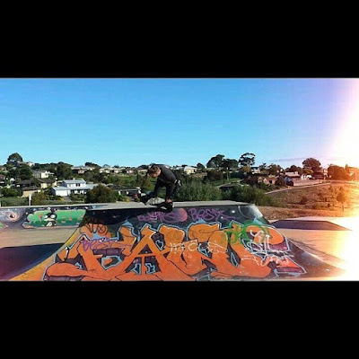 Mark Jansen Adelaide Skateboarding Hallett Cove Graffiti Table Top