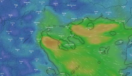 Ο καιρός αύριο στη Θεσσαλονίκη (11/02/2021)