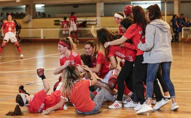 Blogues Benfica Campeão Nacional de Hóquei em Patins Feminino 2018/19
