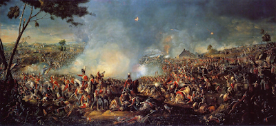 The Battle of Waterloo by William Sadler II, 1815