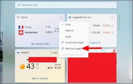 Cara Menambah & Menghapus Widget di Windows 11-5