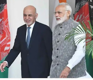 President Ashraf Ghani and Prime Minister Modi meet to discuss evolving security situation and terrorism in region