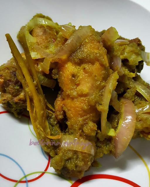 Masakan Ayam Menggunakan Cili Hijau