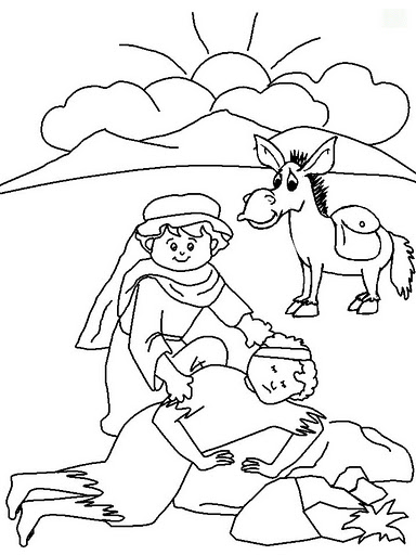 Desenhos Biblicos Para Colorir Xxiv Atividades E Desenhos