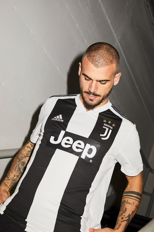 da99a69f7 Juventus 18-19 Home Kit Released - Footy Headlines