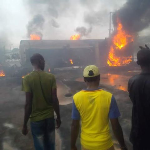 Lives lost, many injured as fuel tanker explodes (PHOTOS)