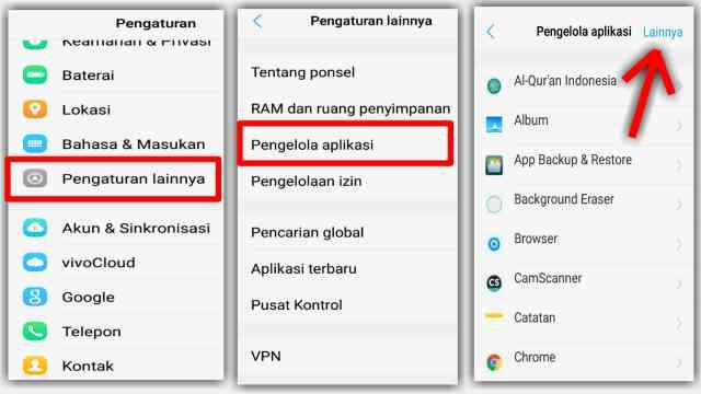 Cara Menghilangkan Notifikasi Pengelola Unduhan di HP VIVO