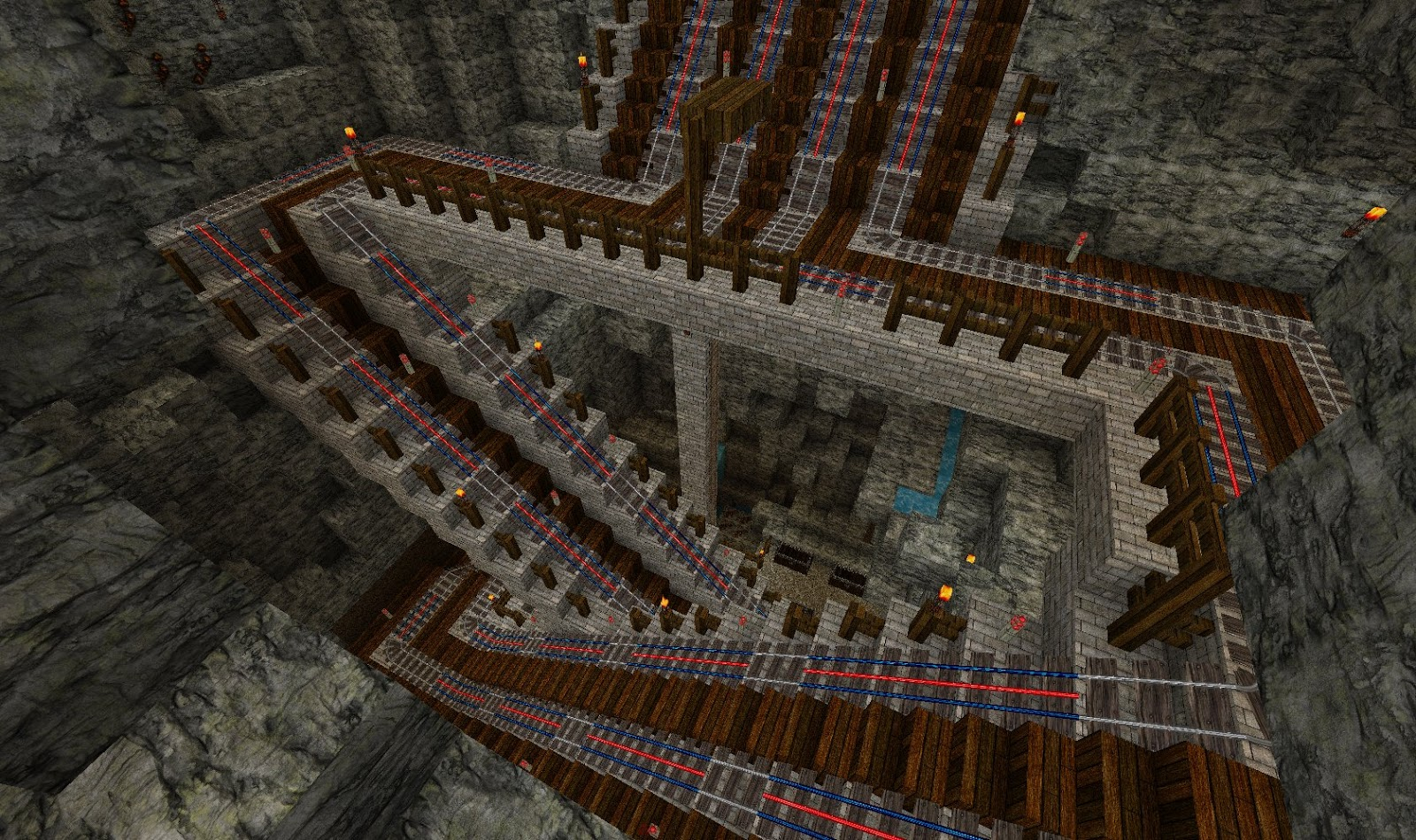 JD's Gaming Blog: Minecraft Creations: The Brick Mansion Chapter 3, Less think more work