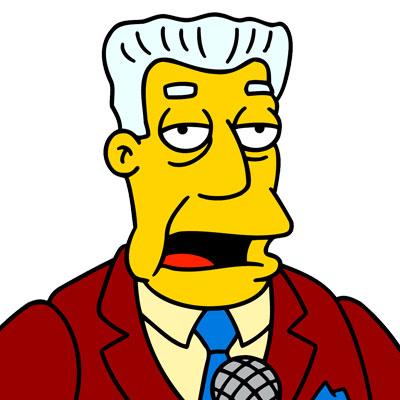 Los Simpson Personaje Kent Brockman
