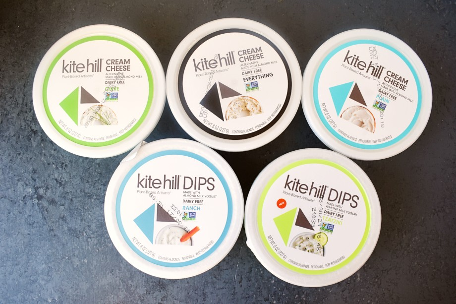 Kite Hill Cream Cheese and Dips