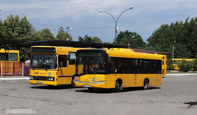 Solaris Urbino 8,9 LE i DAB 1200B, MZK Oświęcim