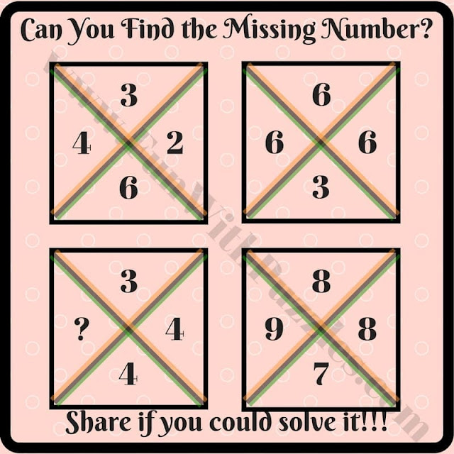 Can You Find the Missing Number in This Puzzle?