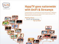 HyppTV Goes Nationwide with UniFi and Streamyx