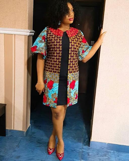 2019 Beautiful Ankara Jacket (Kimono) Styles
