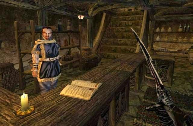 The Elder Scrolls 3 Morrowind PC Games Gameplay