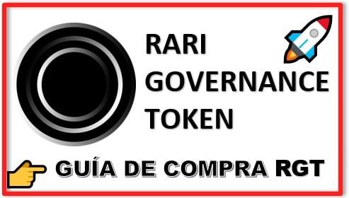 Cómo y Dónde Comprar RARI GOVERNANCE TOKEN (RGT) Tutorial Actualizado